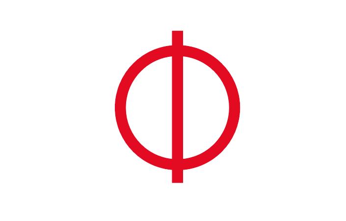 円と垂直線