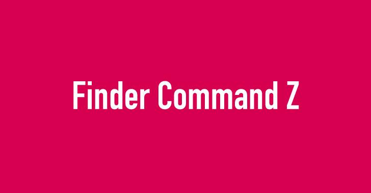 ファインダーでコマンドゼット